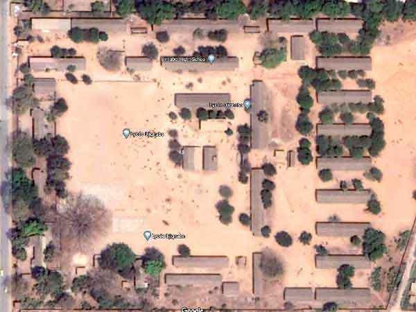 Djignabo sur Google Map