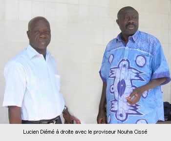 Décès de Lucien Diémé : Le Lycée perd son « Vice-Proviseur »…